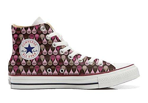 Converse All Star Hi Chaussures Coutume Mixte Adulte (Produit Artisanal) Drops