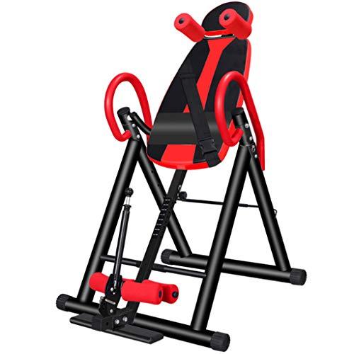 LYN- Tavola di inversione La Lunghezza del Disco intervertebrale Yoga assistito da casa Aumenta Le Attrezzature per Il Fitness (Colore : Red)