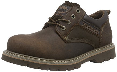Dockers by Gerli 23DA005-400320, Herren Sneakers, Braun (Cafe 320), 43 EU