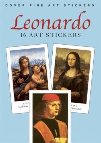 Leonardo: 16 Art Stickers (Dover Art Stickers)