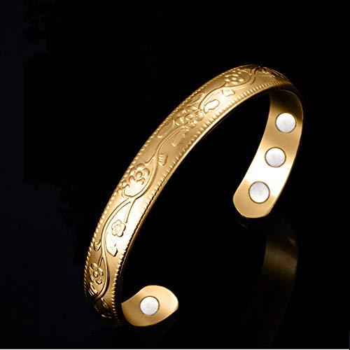 ZSML Titan Magnetfeldtherapie Armband Schmerzlinderung Für Arthritis Und Karpaltunnel Frauen Kupfer Armbänder Schmuck Geschenkbox