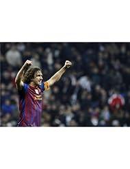 Carles Puyol Poster On Silk <54cm x 35cm, 21inch x 14inch> - Cartel de Seda - 74B523