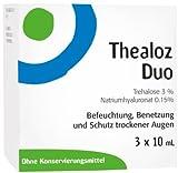 Thealoz Duo Augentropfen, 3X10 ml
