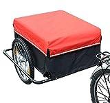 Best remorque vélo - Homcom Remorque de Transport Velo Cargo avec reflecteurs Review