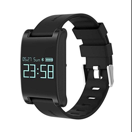 Smart Armband Schrittzähler Sportuhr IP67 Wasserdichte Fitness Armband Blutdruck Monitor Unterstützung Schlaf-Monitor Fern Fotografieren Push Benachrichtigung für IOS uhd Android