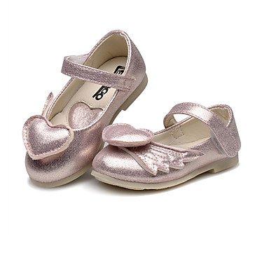 LIDOG Habillé Décontracté Soirée & Evénement-Bleu Rose Argent-Talon Plat-Confort Light Up Chaussures-Ballerines-Similicuir Blue