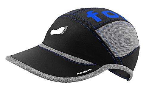 Super leichte Lauf-Mütze Running-Cap Trail-Kappe für Herren Damen von footSprint - tolle Farben für Sport, Freizeit, feinste Funktionsfasern atmungsaktiv hoch elastisch [Sport & Freizeit Bekleidung] Test