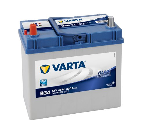 Varta BLUE Dynamic B34 Autobatterie 545 158 033 3132, 12V 45Ah 330A/EN