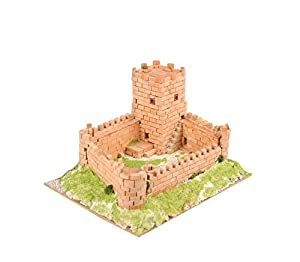 Keranova- Kit de cerámica Castillo Medieval, Color marrón (30219)