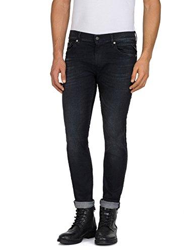 Replay Herren JONDRILL Skinny Jeans, Schwarz (Blue Denim 98), W30/L32