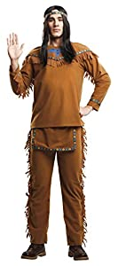 My Other Me Me-204408 Disfraz indio para hombre, L (Viving Costumes 204408