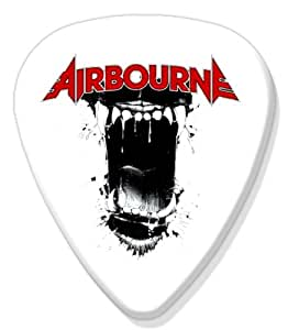 Airbourne BIG Guitar Pick Band Médiator