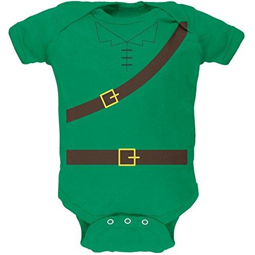 Halloween Robin Hood Kostüm grün weiches Baby 1 Gepäckstück - 18-24 (Monat 18 Kostüm Robin)