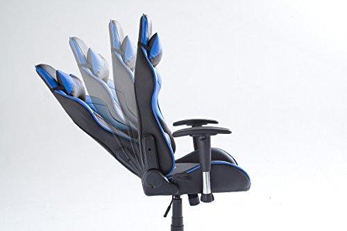 Schreibtischstuhl, Mc Racing 7 Gamingstuhl Bürostuhl 62497sb3 BüGeln Nicht blau