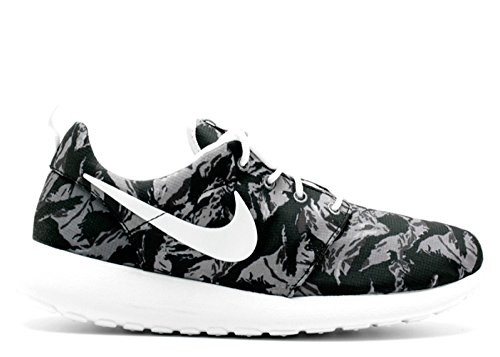 Nike Roshe One Print, Chaussures de Course Homme wolf grey, white-cl gry-anthrct