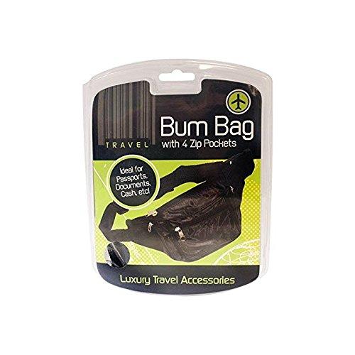 black-bum-bag-with-4-zipped-pockets-security-safe-travel-money-waist-belt-wallet-1-x-bum-bag
