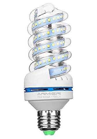 E27 LED Lampe, 20W ersetzt 150W LED Birne, Kaltweiss 6000K,