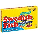 Swedish Fish ASSORTED theatre Box- imported from America