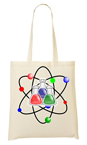 C+P Chemistry Atoms Tragetasche Einkaufstasche