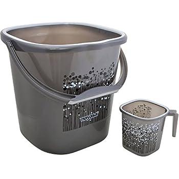 1f2d55e7c3300 NAYASA Plastic Bathroom Bucket for Home (25 L