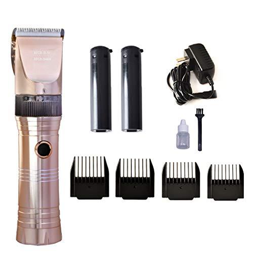 Haarschneidemaschine Cordless, professionelle Haarschneidemaschine Set wiederaufladbare Clippers Trimmer Bart Razor Herren Aluminium Klinge, Heimgebrauch (Clippers Herren-trimmer)