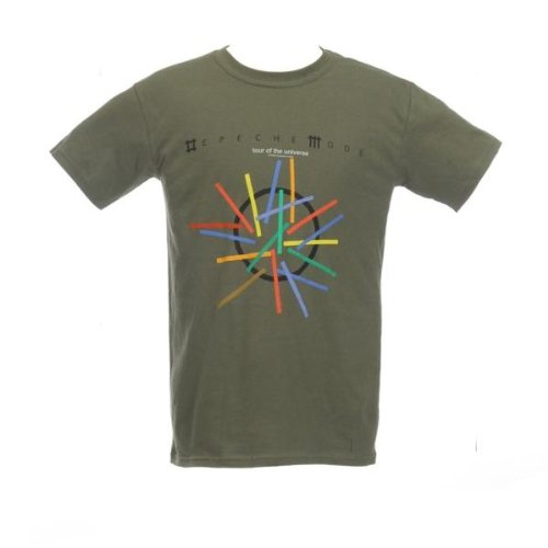 Collectors Mine - Camiseta de Depeche Mode para hombre, talla 48, color Verde