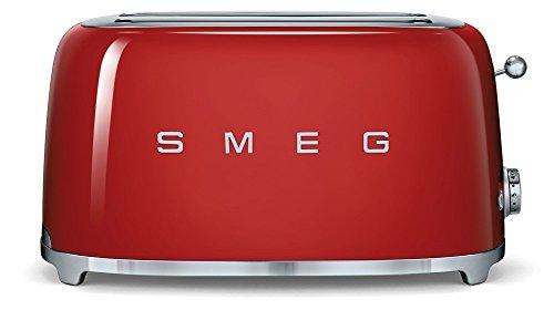 SMEG SMEG TOASTER 4 FETTE ROSSO TSF02RDEU SMEG toaster 4 fette rosso TSF02RDEU
