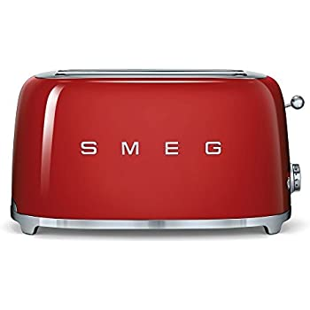 smeg tsf02rdeu toaster 4 scheiben rot. Black Bedroom Furniture Sets. Home Design Ideas
