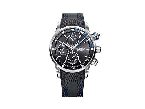 Reloj Automático Maurice Lacroix Pontos S Chronograph , ML 112, Negro/Azul