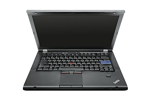 Lenovo Thinkpad T420 35,56 cm (14 Zoll HD) Notebook (Intel Core i5, 4GB, 128GB SSD, Intel HD 3000, Docking, Webcam, UMTS, Bluetooth, Fingerprintreader, Windows 10 Pro) schwarz (Zertifiziert und Generalüberholt)
