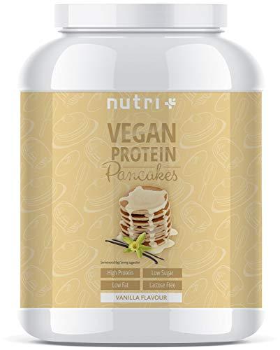 lle Vegan 1kg | 6x mehr Eiweiß als normale Pfannkuchen | zuckerarm und fettarm | Low-Carb Pancakes | schnell und einfach zubereitet | In Deutschland hergestellt ()