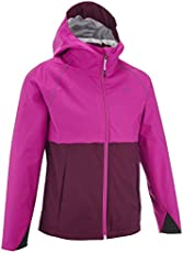 Quechua Hike 500 Children's Hiking Jacket - Plum - Purple