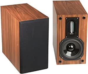 Red Rose Music Spirit Studio Monitors LS-1 RW (Rosewood)