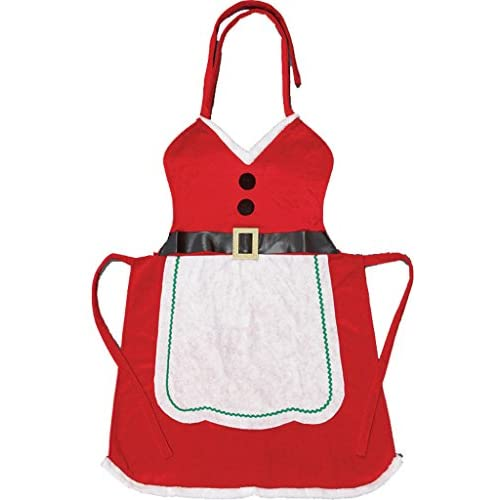 Miss Santa Christmas Novelty Apron