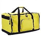 Monzana® Sporttasche - 70 cm - 95 Liter Stauraum - Reistetasche Reisekoffer Koffer Tasche gelb