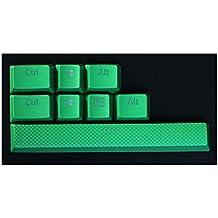 Feicuan Mechanical teclado 8 PBT Replacement Keycap para Corsair K70 STRAFE Logitech G710 -Green