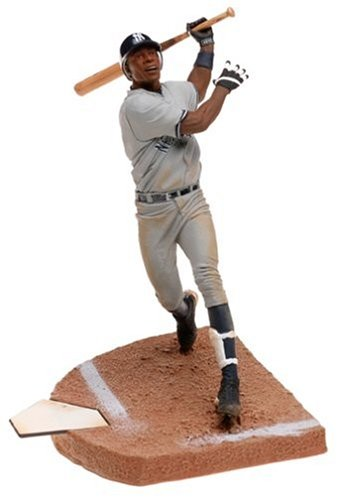 (McFarlane MLB Serie 8Figur: Alfonso Soriano mit grau Yankees Jersey)