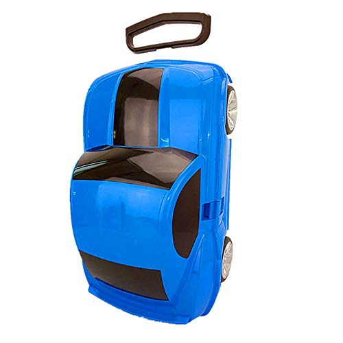 163668bb28 HCC 23inch Kids Suitcase 3D Lamborghini Car Style Lightweight Hard-Side  Trolley Case for Boys