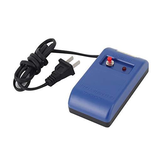 WEIWEITOE-DE Uhrenreparatur Schraubendreher Pinzette Elektrisch Entmagnetisieren Entmagnetisierer Werkzeuge für Uhrmacher Uhrenreparaturwerkzeuge, Blau,