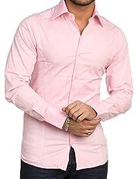 Redbridge Herren Business-Hemd, Einfarbig