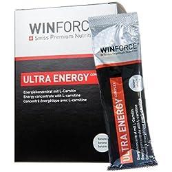 Barrita Energética Ultra Energy Complex Winforce 10 x 25g Avellana
