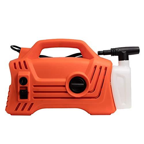 CNKSKXK-Pressure washer Hochdruckreiniger, 1200W 100Bar elektrische tragbare Light Power Waschmaschine mit Zubehör, Auto/Patio/Yard Waschmaschine (Power-waschmaschinen-zubehör)