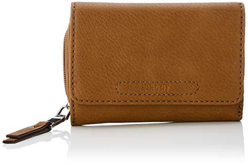 Esprit Accessoires Damen Tori Medcltchwl Geldbörse, Braun (Rust Brown), 2x9x14 cm
