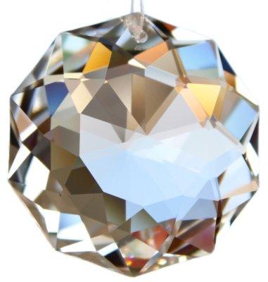 Set: SWAROVSKI ELEMENTS Dahlia Sonne 50mm Kristall Glas Pendel - Feng Shui und Dekoration -