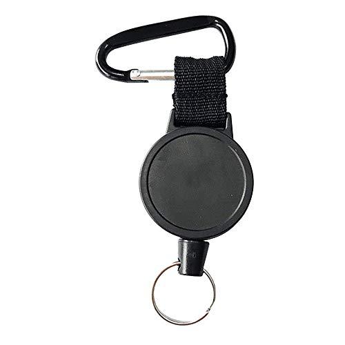 Ljwjialo Emoji Heavy-Duty einziehbare Schlüsselanhänger einziehbare ID Badges Halter mit 25 Zoll Stahldrahtseil for Zuhause im Freien, 1PCS Spielzeug -