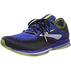 Brooks Bedlam, Chaussures de Running Homme, Multicolore (Black/Blue/Nightlife 069), 46 EU