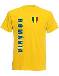 Rumänien EM 2016 T-Shirt Trikot - S M L XL XXL - gelb 10
