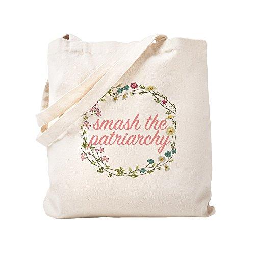 CafePress-Smash el patriarcado-Gamuza de bolsa de lona bolsa, bolsa de la compra