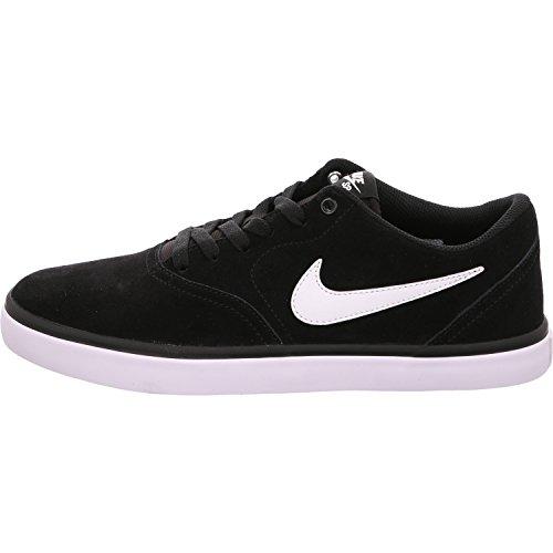 pretty nice 6686c 8a322 Nike Sb Check Solar, Scarpe da Skateboard Uomo, Nero (Black   White)