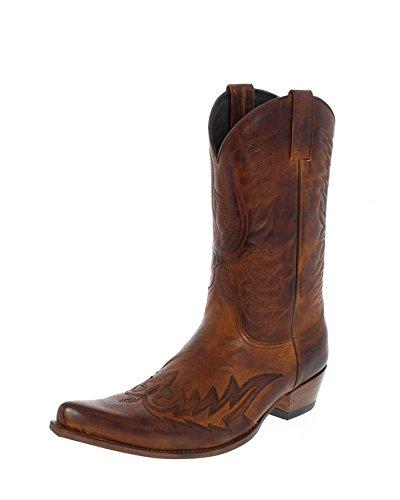 Sendra Boots 12994, Stivali uomo Marrone marrone, Marrone (teak), 44